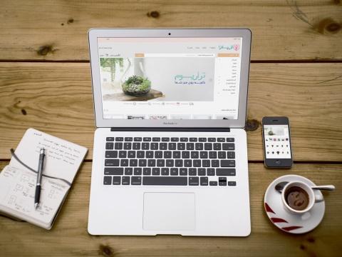 طراحی فروشگاه اینترنتی گل پلازا Golplaza