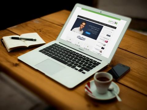 طراحی سایت چندمنظوره شخصی ارتباط سبز Ertebatesabz