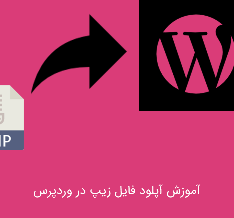 آپلود فایل زیپ در وردپرس   آموزش اپلود انواع پسوند ها در وردپرس