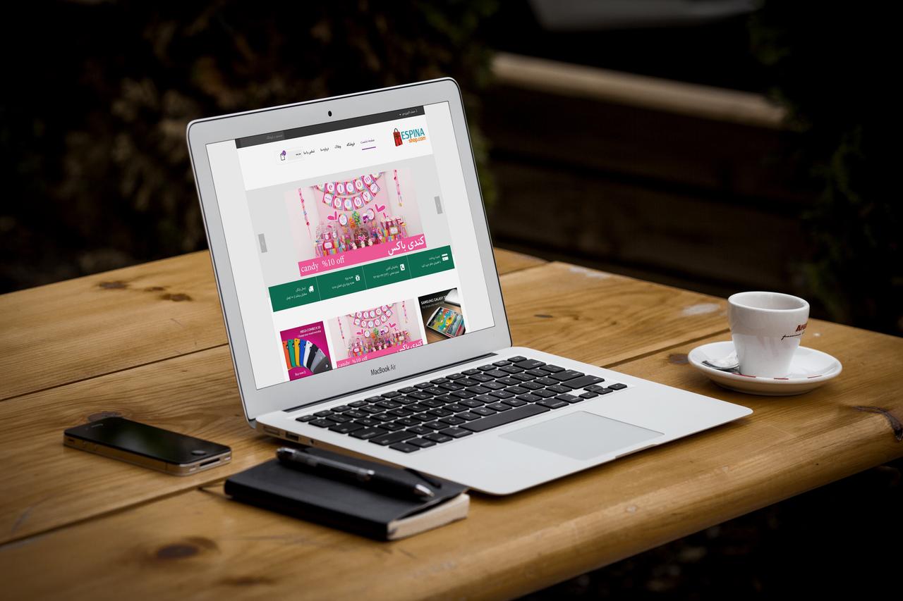 طراحی فروشگاه اینترنتی رسپیناشاپ | طراحی فروشگاه اینترنتی | طراحی سایت فروشگاهی