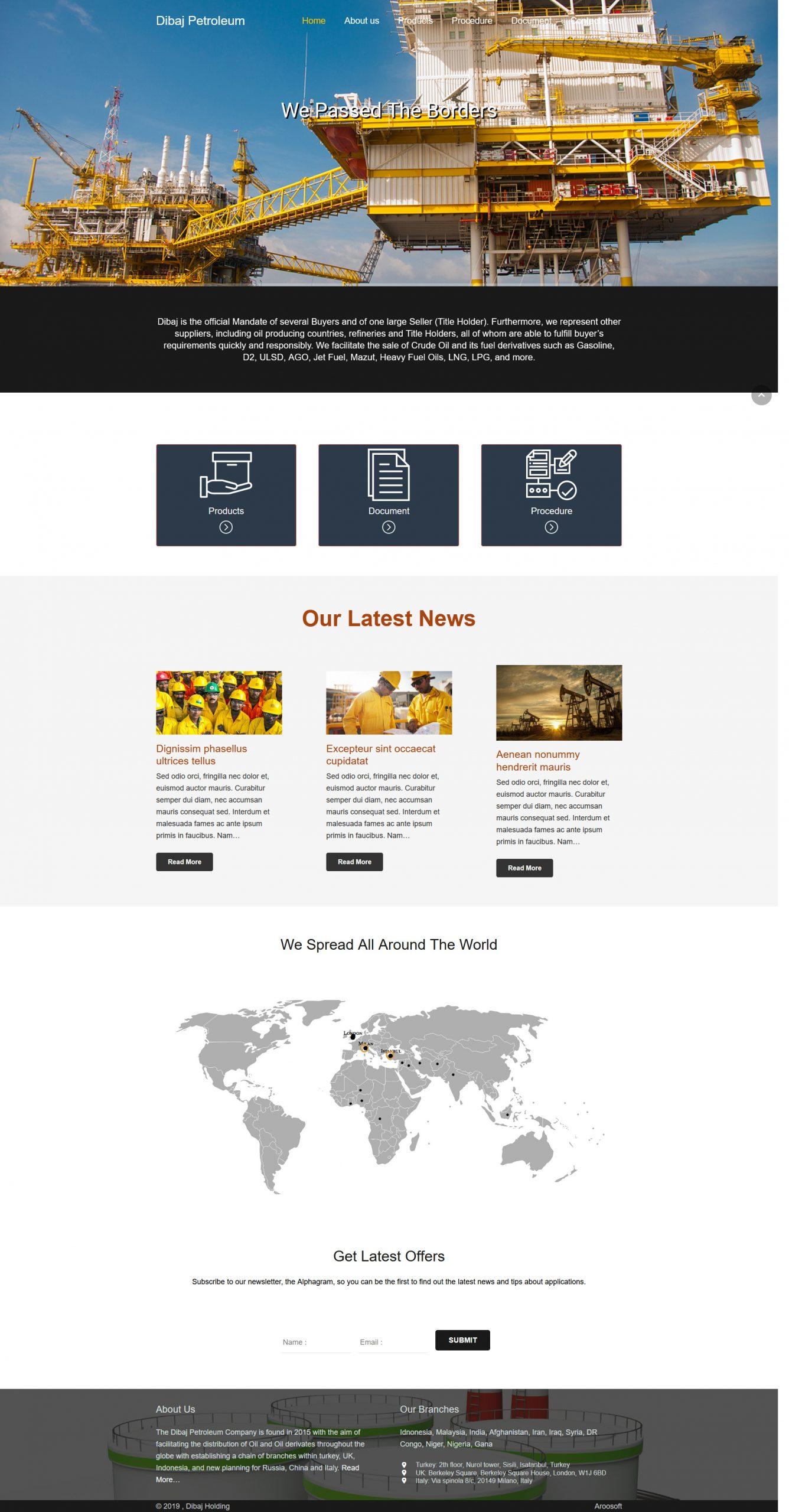 طراحی فروشگاه اینترنتی رسپیناشاپ Respinashop | طراحی فروشگاه اینترنتی با وردپرس | طراحی سایت