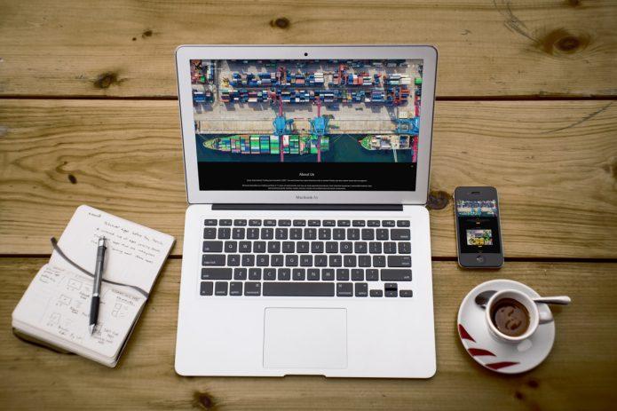 طراحی سایت شرکتی karen