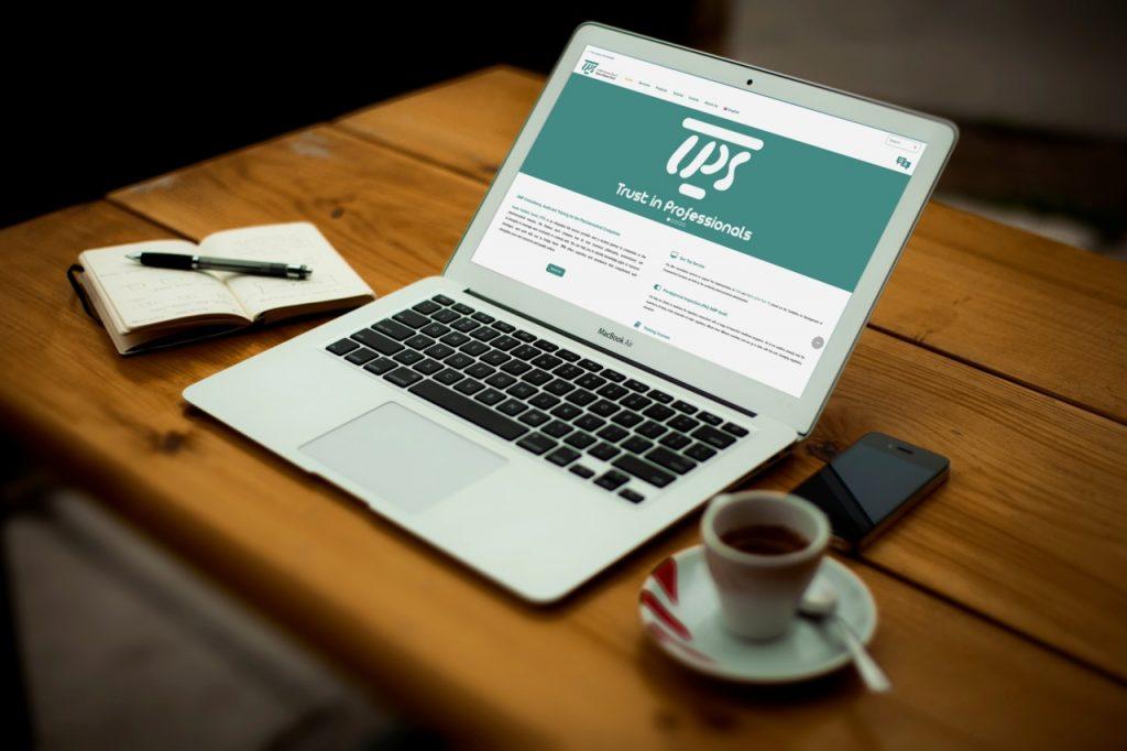 طراحی سایت شرکتی تریتا پدیده صنعت tpsadvisor