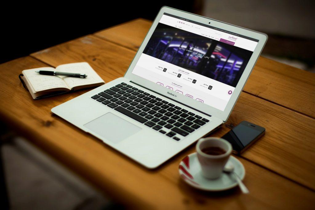 طراحی سایت گروه بازرگانی پدر afzoonco